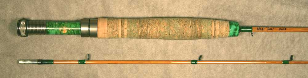 custom bamboo fly fishing rod