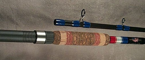 custom built catfish fishing rod
