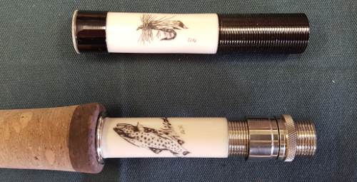 custom fly fishing reel seat and grip