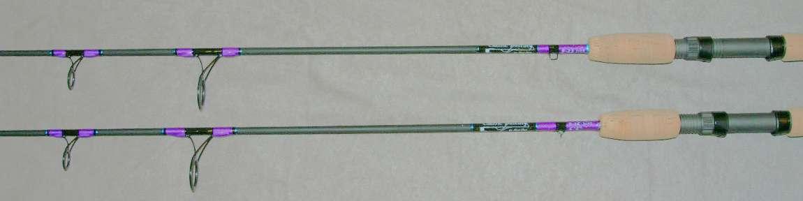peacock bass custom rod
