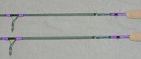 bass custom fishing rods